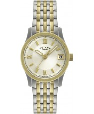 Rotary LB00793-09 zegarki damskie two tone zegarek