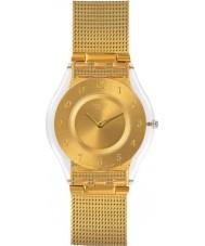 Swatch SFK355M Hojność złoty zegarek bransoleta ze stali