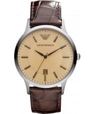 Emporio Armani AR2427 Męskie klasyczne bursztynowy Brown zegarka