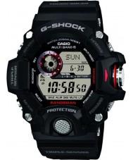 Casio GW-9400-1ER Mężczyźni premii g-shock radiowego czujnika potrójne sterowany zegarek zasilany energią słoneczną