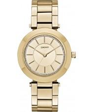 DKNY NY2286 Panie stanhope pozłacane bransoletę zegarka