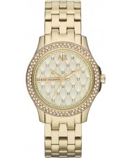 Armani Exchange AX5216 złota sukienka damska galwanicznie bransoletka zegarek