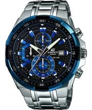 Casio EFR-539D-1A2VUEF Mężczyźni gmach niebieski srebrny zegarek chronograf