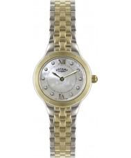Rotary LB02761-41 zegarki damskie srebro i złoto zegarek