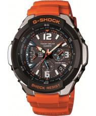 Casio GW-3000M-4AER Radio Mężczyźni g-shock kontrolowane pomarańczowy zegarek zasilany energią słoneczną