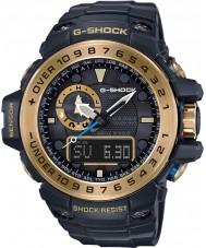 Casio GWN-1000GB-1AER Mężczyźni g-shock black zasilany energią słoneczną kompas i wysokościomierz combi oglądać