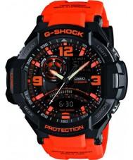 Casio GA-1000-4AER Mężczyźni g-shock sensor Twin neon-Iluminator zegarek