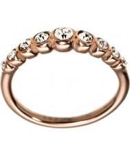 Edblad 2153441919-S wartościowość Ladies wzrosła pozłacany pierścień - Rozmiar wiersza n (s)