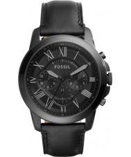 Fossil FS5132 Mężczyźni przyznają czarny zegarek chronograf