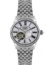Rotary LB90510-41 Panie les originales automatyczne srebrny zegarek