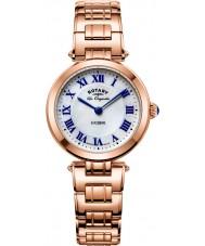 Rotary LB90189-41 Panie les originales lucerny wzrosła złoty zegarek bransoleta ze stali