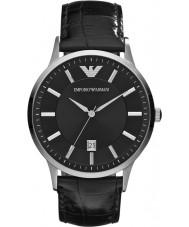 Emporio Armani AR2411 Mens klasyczny czarny zegarek