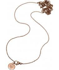 Edblad 116130174 charmentity Ladies wzrosła pozłacane długi łańcuch