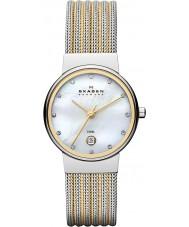 Skagen 355SSGS Panie Klassik dwa tonu stalowy zegarek