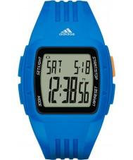 Adidas Performance ADP3234 Duramo żywicy niebieski pasek zegarka