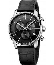 Calvin Klein K2G271C3 Mężczyźni city czarny zegarek chronograf
