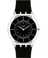 Swatch SFK361 Skóra - czarny classiness zegarek