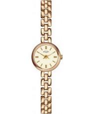 Rotary LB02543-03 zegarki damskie pozłacany zegarek