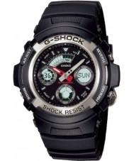 Casio AW-590-1AER Mężczyźni g-shock zegarek sportowy chronograf czarna