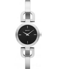 DKNY NY8541 Panie Reade czarny srebrny zegarek