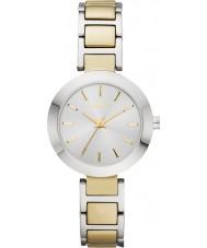 DKNY NY2401 Panie stanhope two tone stalowa bransoleta zegarka