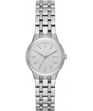DKNY NY2490 Park Ladies nachylenie srebro stal bransoletka zegarek