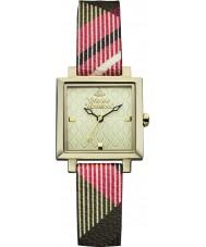 Vivienne Westwood VV087GDBR Zegarek wystawcy damskiej