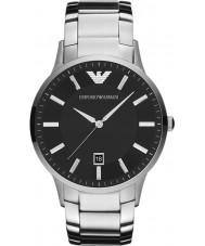 Emporio Armani AR2457 Męskie klasyczne czarno-srebrny zegarek