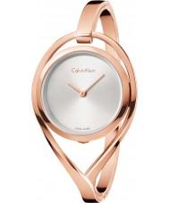 Calvin Klein K6L2M616 lekkie damskie wzrosła pozłacana bransoletka zegarek
