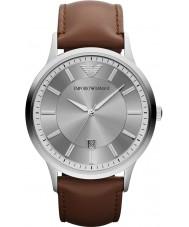 Emporio Armani AR2463 Mens klasyczny szary brązowy zegarek