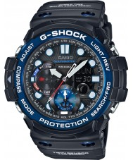 Casio GN-1000B-1AER Mężczyźni wykres g-shock gulfmaster przypływ i księżyc wiek czarny zegarek
