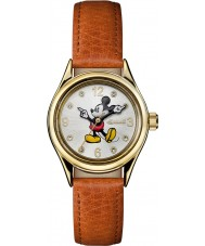 Disney by Ingersoll ID00901 Unia Ladies brązowy skórzany pasek do zegarka