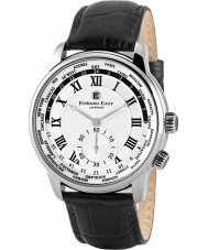 Edward East EDW1960G18 Mens czarny skórzany pasek zegarka