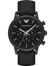 Emporio Armani AR1970 Mens klasyczny czarny zegarek chronograf
