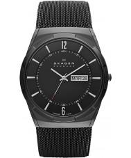 Skagen SKW6006 Mężczyźni aktiv czarnym zegarku z siatki