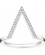 Thomas Sabo D-TR0020-725-14-52 Panie Glam i duszą 925 srebrny pierścionek z brylantem - Wielkość m.5 (UE 52)