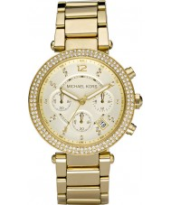 Michael Kors MK5354 Panie Blair pozłacany zegarek chronograf