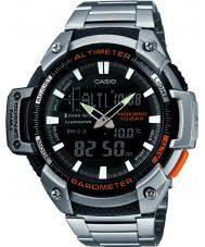 Casio SGW-450HD-1BER Mężczyźni rdzeń srebrny wysokościomierz i barometr combi zegarek