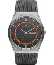Skagen SKW6007 Mężczyźni aktiv szary zegarek siatkową