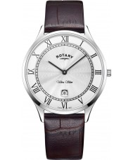 Rotary GS08300-01 Męski, ultra płaski zegarek