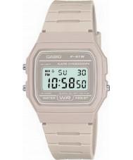 Casio F-91WC-8AEF Męskie kolekcja retro zegarek chronograf kamienia
