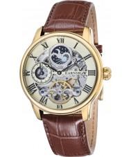 Thomas Earnshaw ES-8006-06 Croco męska Długość brązowy skórzany pasek zegarka
