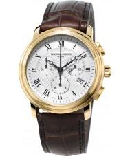 Frederique Constant FC-292MC4P5 Męskie klasyki brązowy Chronograph watch