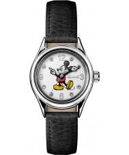 Disney by Ingersoll ID00902 Unia damskie czarny skórzany pasek do zegarka