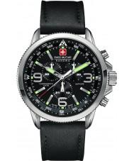 Swiss Military 6-4224-04-007 Mężczyźni strzałka chrono czarny zegarek