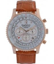 Krug-Baumen 600701DS Mężczyźni podróżnego powietrza diamond watch