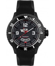 Ice-Watch DI.BW.XL.R.12 Mężczyźni lodu surfowania bardzo duży czarny zegarek