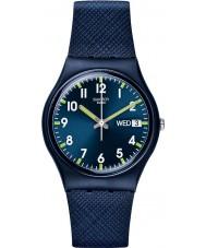 Swatch GN718 Original Gent - sir niebieski zegarek