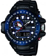 Casio GWN-1000B-1BER Radio Mężczyźni premii g-shock zegarek sterowany zasilany energią słoneczną