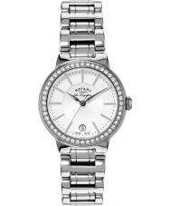 Rotary LB90081-02L Panie les originales srebrny zegarek